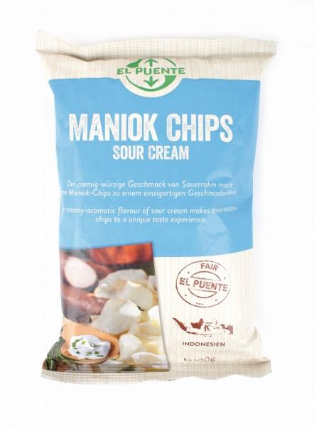 Maniok Chips Sourcream