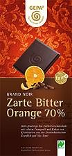 ZARTE BITTER ORANGE 70 % SCHOKOLADE, 100 G, BIO, NATURLAND Z