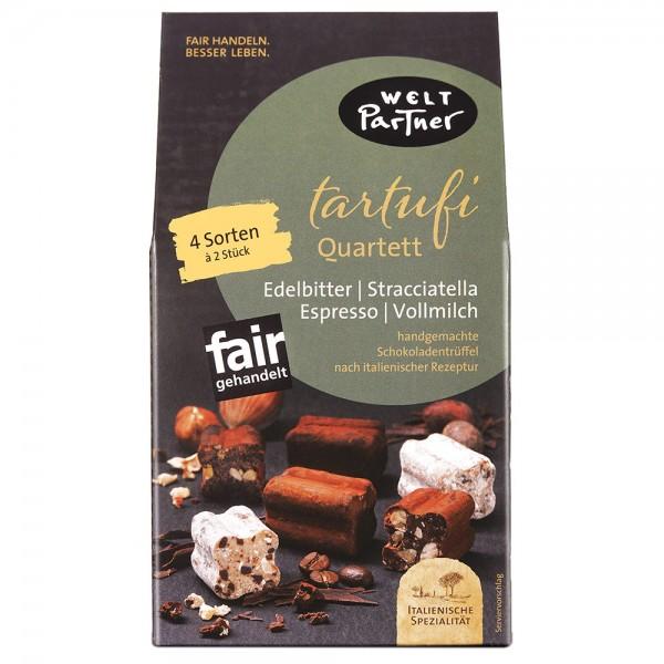 Tartufi Quartett, handgemachte Schokoladentrüffel