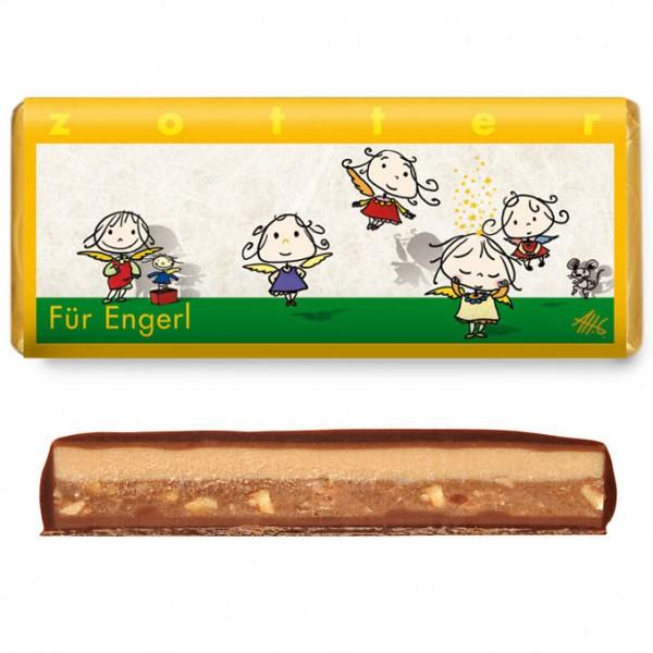 """zotter - """"Für Engerl"""" NougatVariation"""