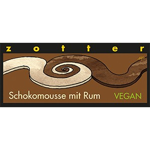 zotter - Schokomousse mit Rum VEGAN