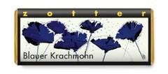 zotter - Blauer Krach Mohn