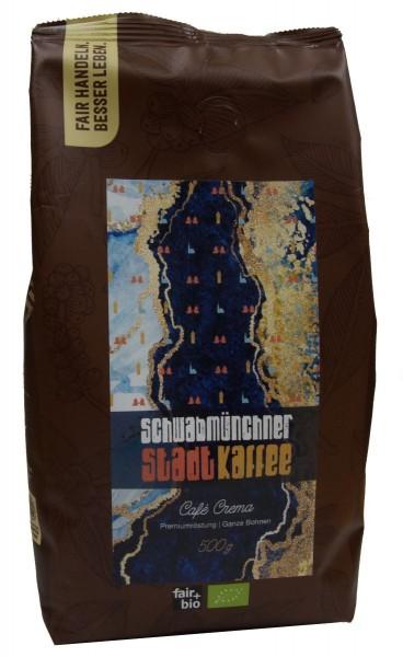 Schwabmünchen Kaffee - AGENDA CAFÉ PERU CREMA, BIO°, 500G BOHNE