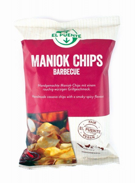 Maniok Chips Barbecue
