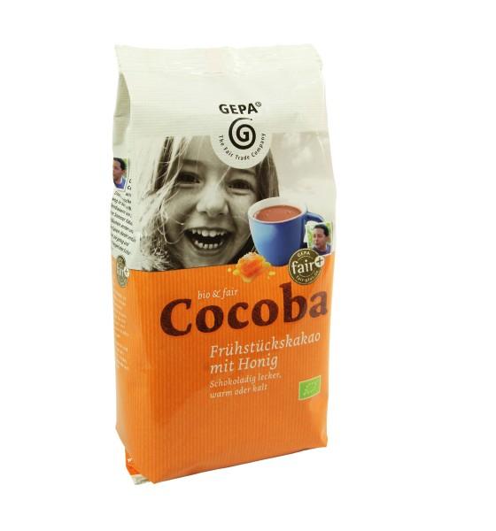 Bio Cocoba, Kakaohaltiges Bio Instant Getränkepulver
