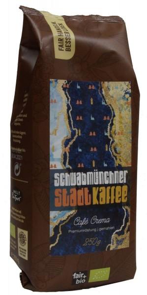 Schwabmünchen Kaffee - AGENDA CAFÉ PERU CREMA, BIO°, 250G GEMAHLEN