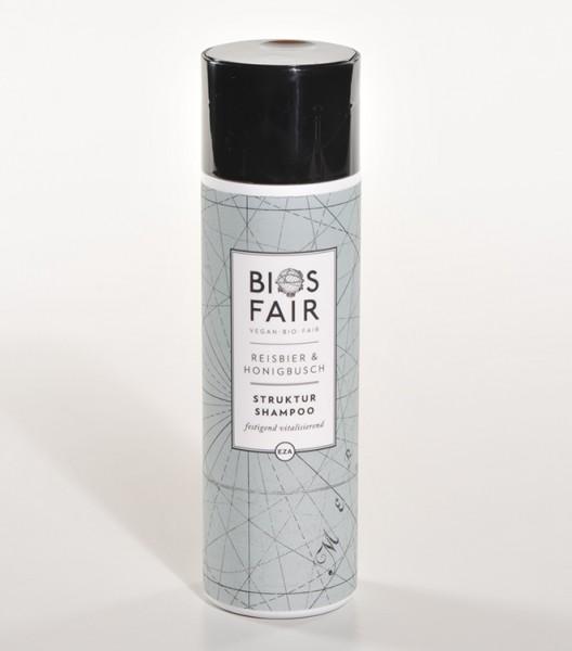 BIOSFAIR Struktur-Shampoo Reisbier & Honigbusch, 200ml