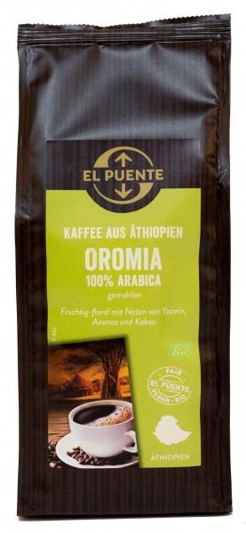 Oromia Bio-Kaffee, gemahlen