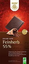 FEINHERB 55 % SCHOKOLADE, 100 G, BIO, NATURLAND FAIR ZERTIFI