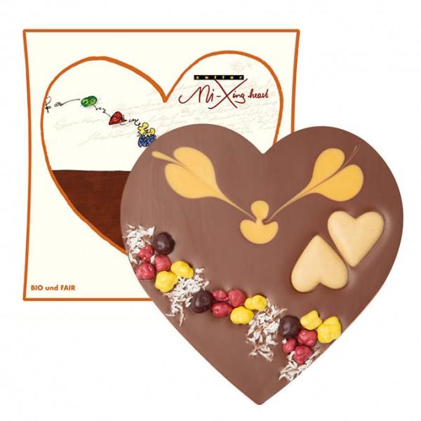 zotter - Herz mit Karamellnougat